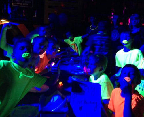 Glow Kids Birthday Parties Urban Air Trampoline And