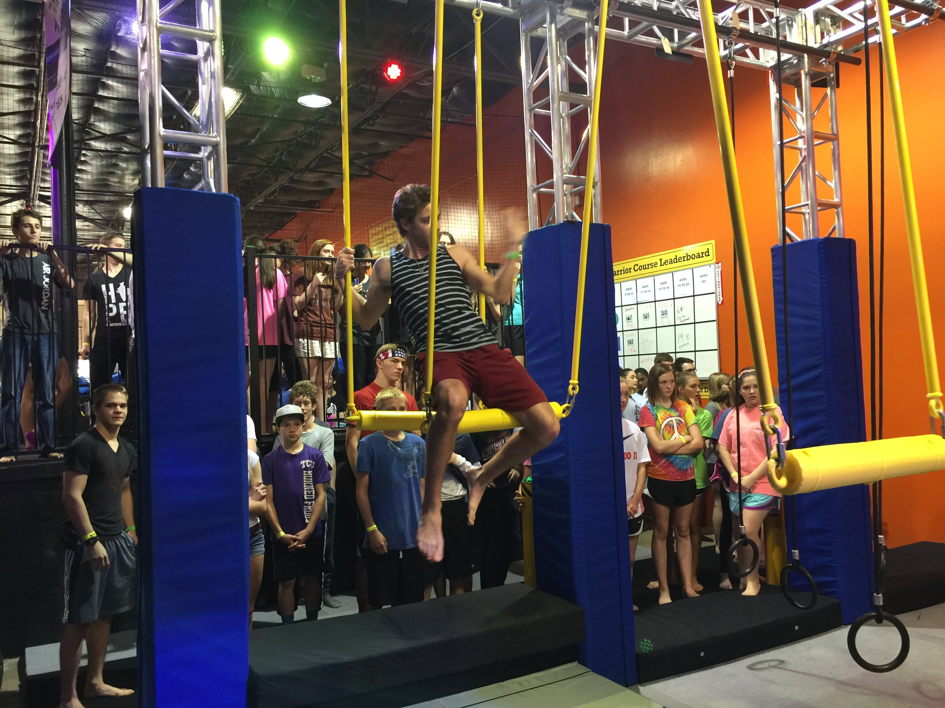 Mansfield tx indoor trampoline park urban air for Dive bar shirt club promotion codes