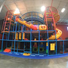 Indoor Playground At Urban Air Northwest Houston