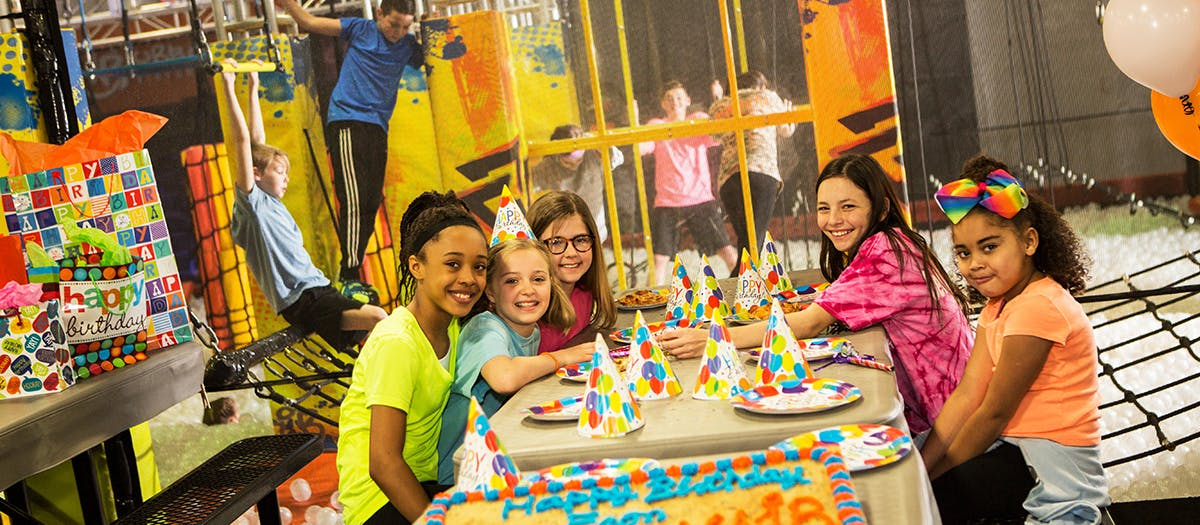 Kids Birthday Party Places Urban Air Trampoline Park Urban Air