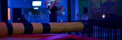 Kid Friendly Family Fun Attractions In Delco Springfield Pa Urban Air Trampoline And Adventure Park