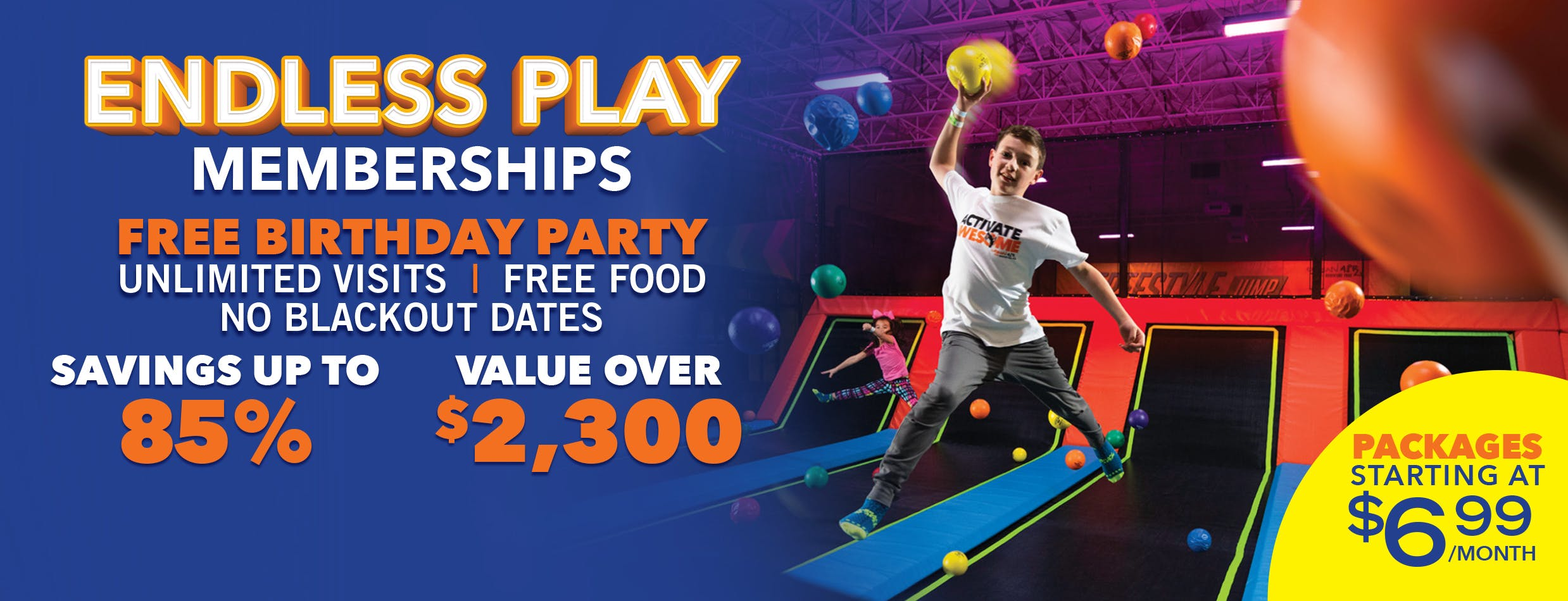 Kid Friendly Family Fun Attractions In South Portland Me Urban Air Trampoline And Adventure Park